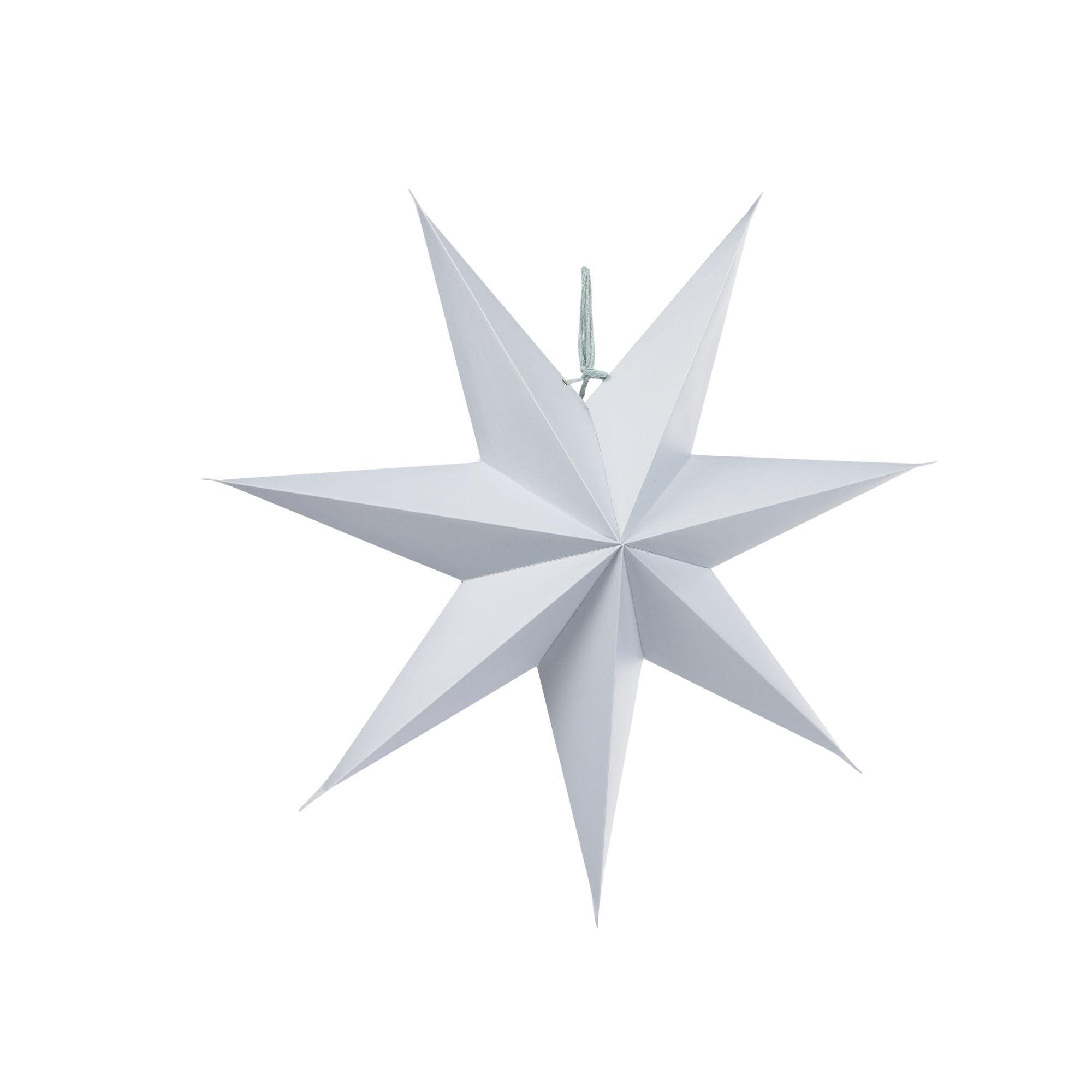 kave home stella da appendere decorativa vica azzurro chiaro