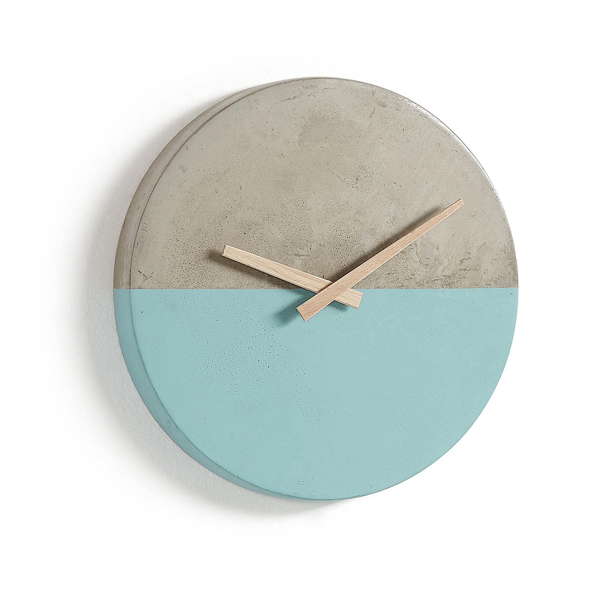 Kave Home Orologio da parete Lenny Ø 27 cm
