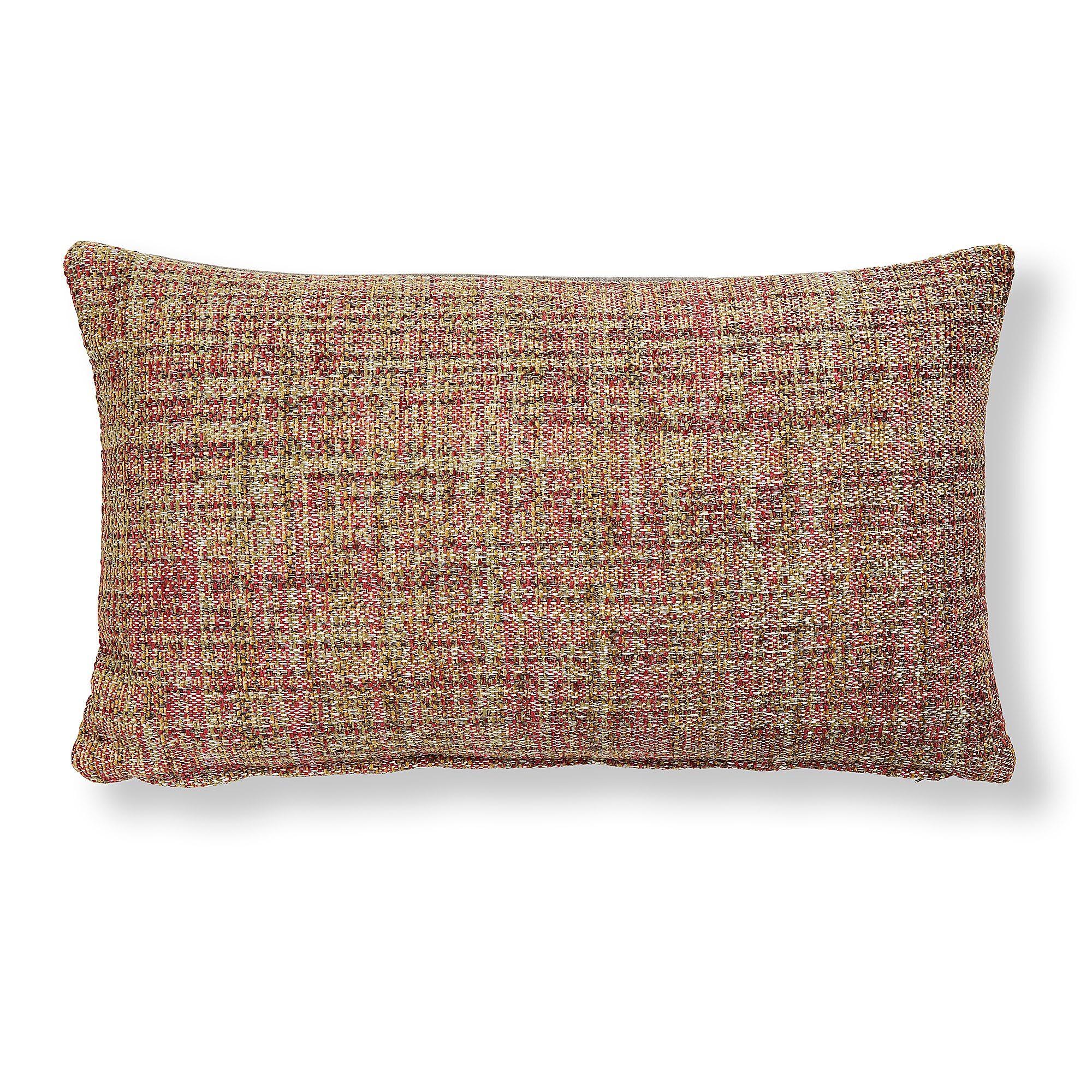Kave Home Fodera cuscino Boho 30 x 50 cm rosa