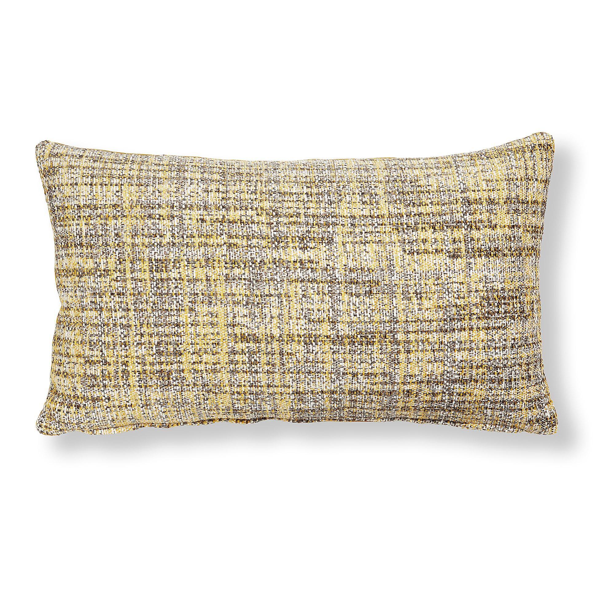 Kave Home Fodera cuscino Boho 30 x 50 cm senape