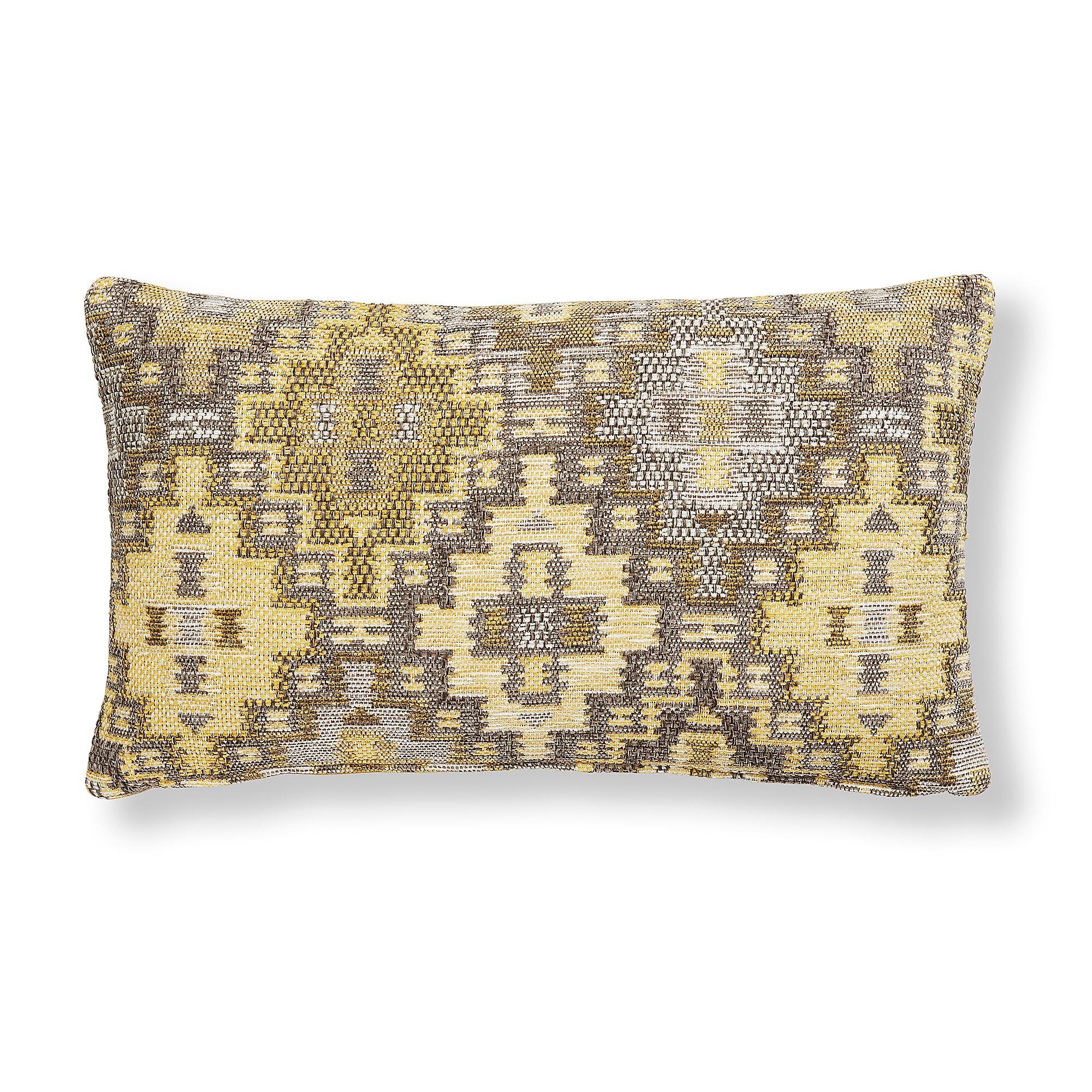 Kave Home Fodera cuscino Nazca 30 x 50 cm senape