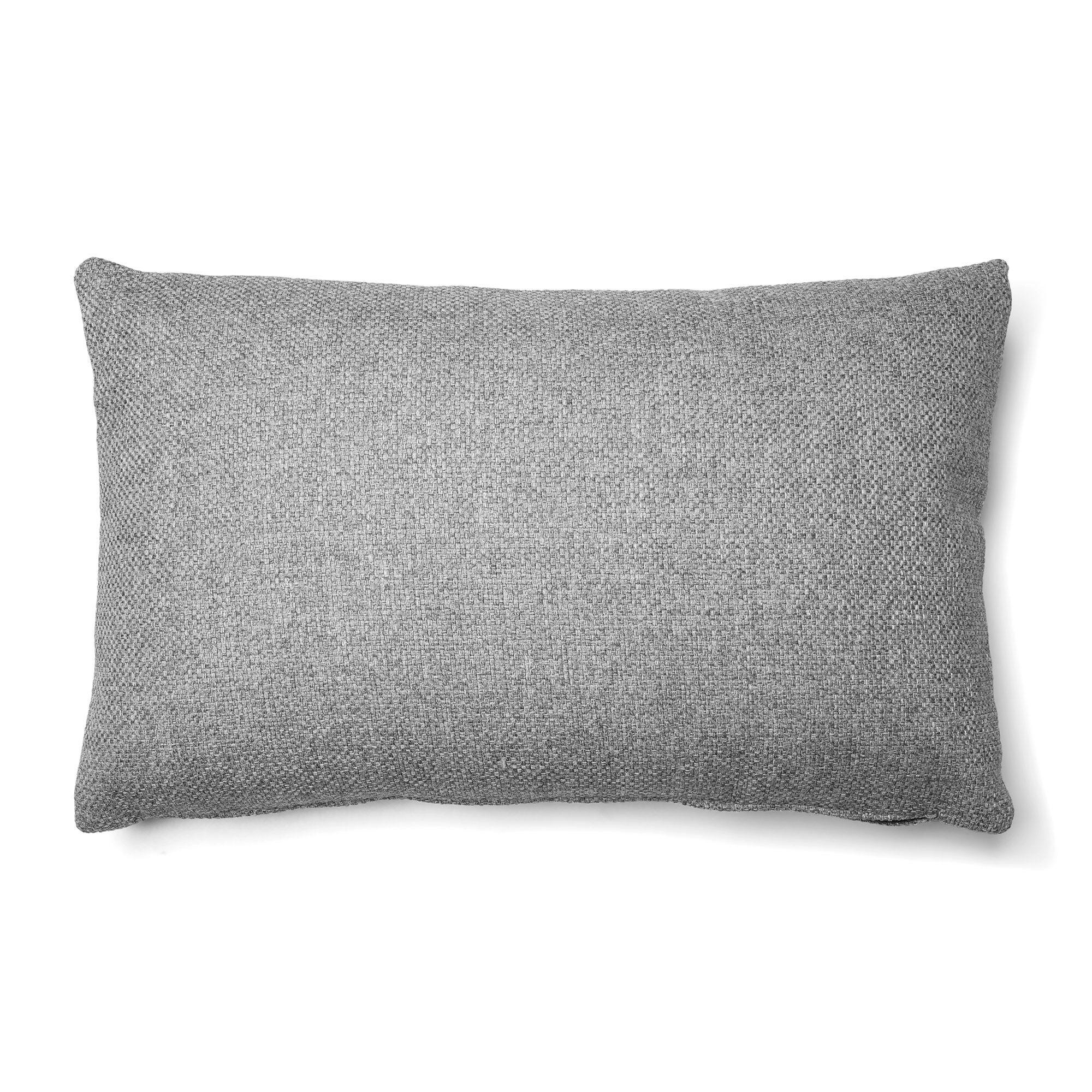 Kave Home Fodera per cuscino Kam 30 x 50 cm chrono grigio chiaro