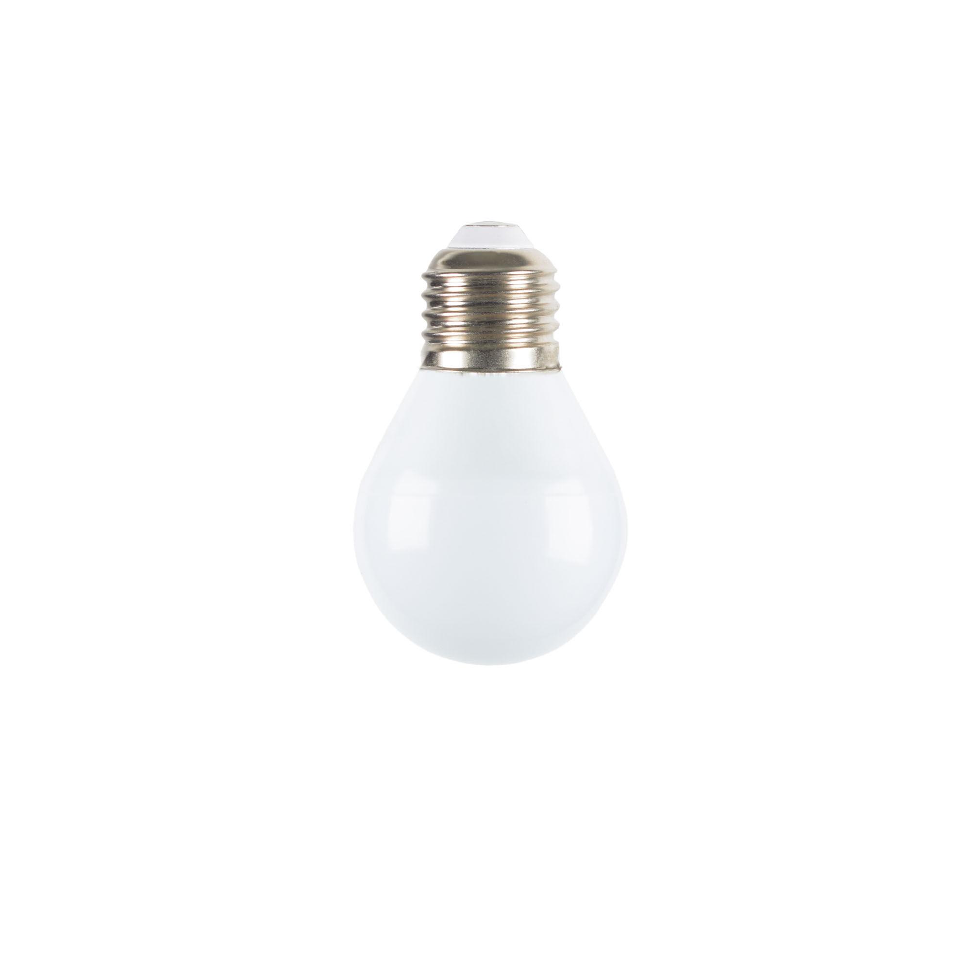 Kave Home Lampadina LED Bulb E27 da 3W e 45 mm luce neutra