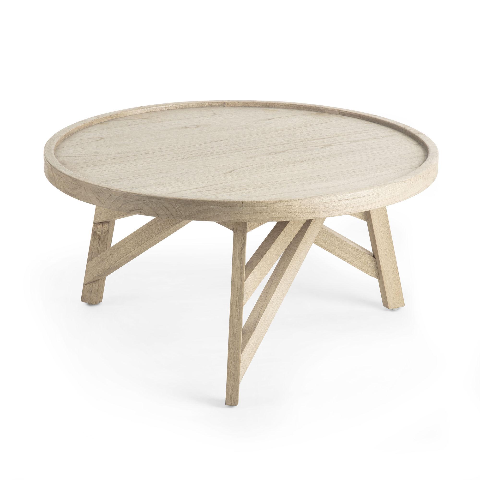 Kave Home Tavolino Tenda Ø 81 cm