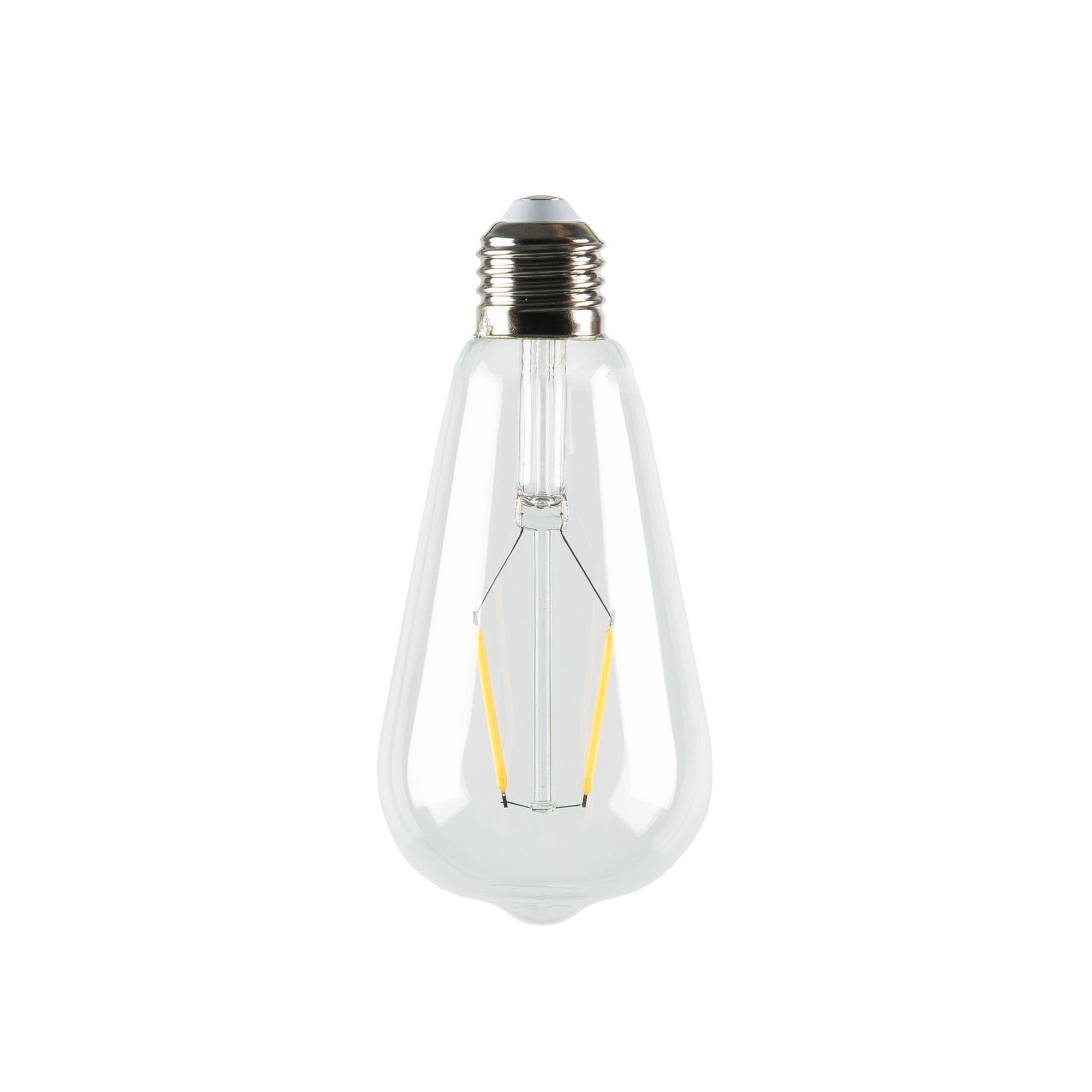 Kave Home Lampadina LED Bulb E27 da 4W e 65 mm luce calda