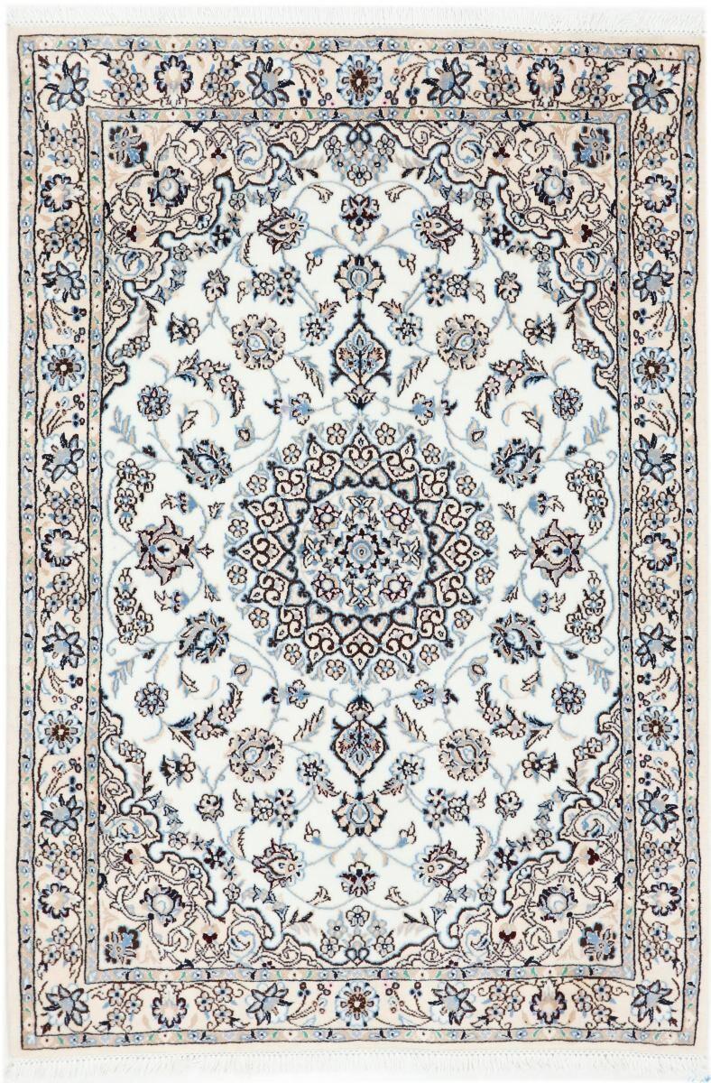 Nain Trading Tappeto Orientale Nain 9La 160x110 Grigio Scuro/Beige (Lana / Seta, Persia/Iran, Annodato a mano)