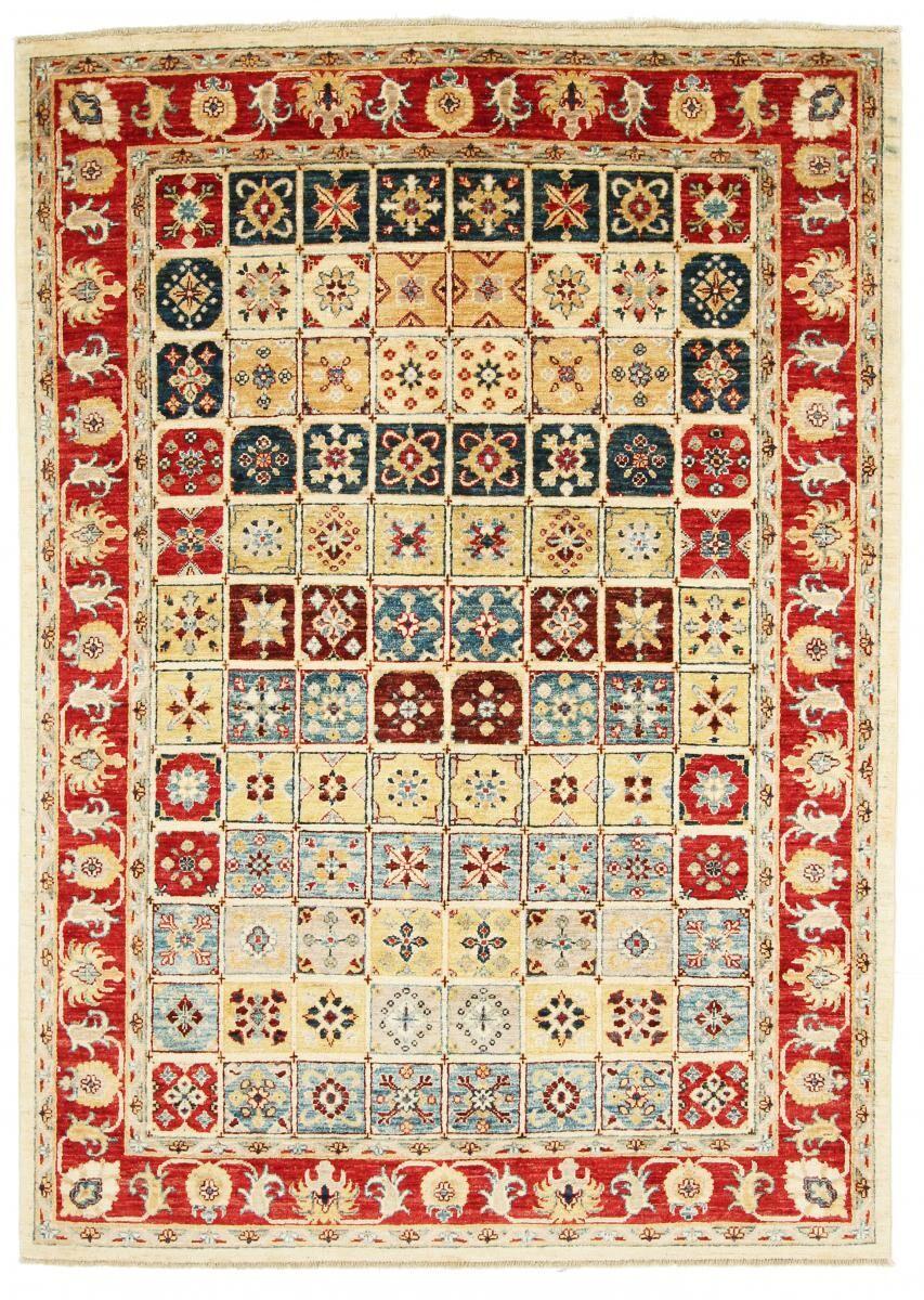 Nain Trading Tappeto Orientale Arijana Bakhtiari 209x153 Marrone/Ruggine (Pakistan, Lana, Annodato a mano)