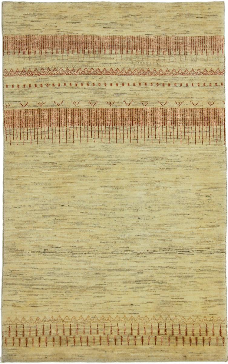 Nain Trading Tappeto Persia Gabbeh Loribaft 163x100 Moderna/Design Beige/Marrone (Annodato a mano, Lana, Persia/Iran)