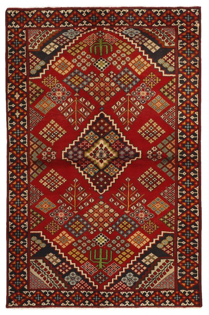 Nain Trading Tappeto Persiano Mahabad 201x131 Marrone/Ruggine (Annodato a mano, Persia/Iran, Lana)