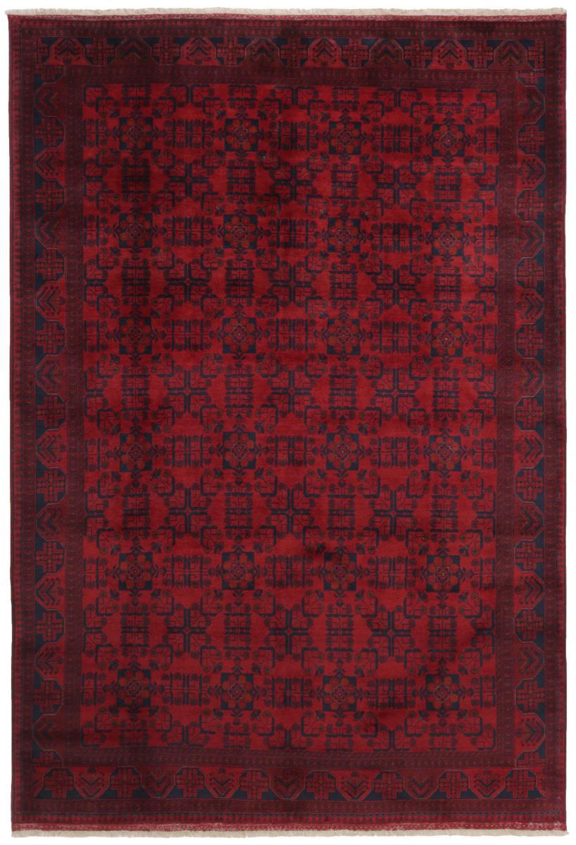 Nain Trading Tappeto Orientale Khal Mohammadi 293x198 Grigio Scuro/Marrone Scuro (Lana, Afghanistan, Annodato a mano)