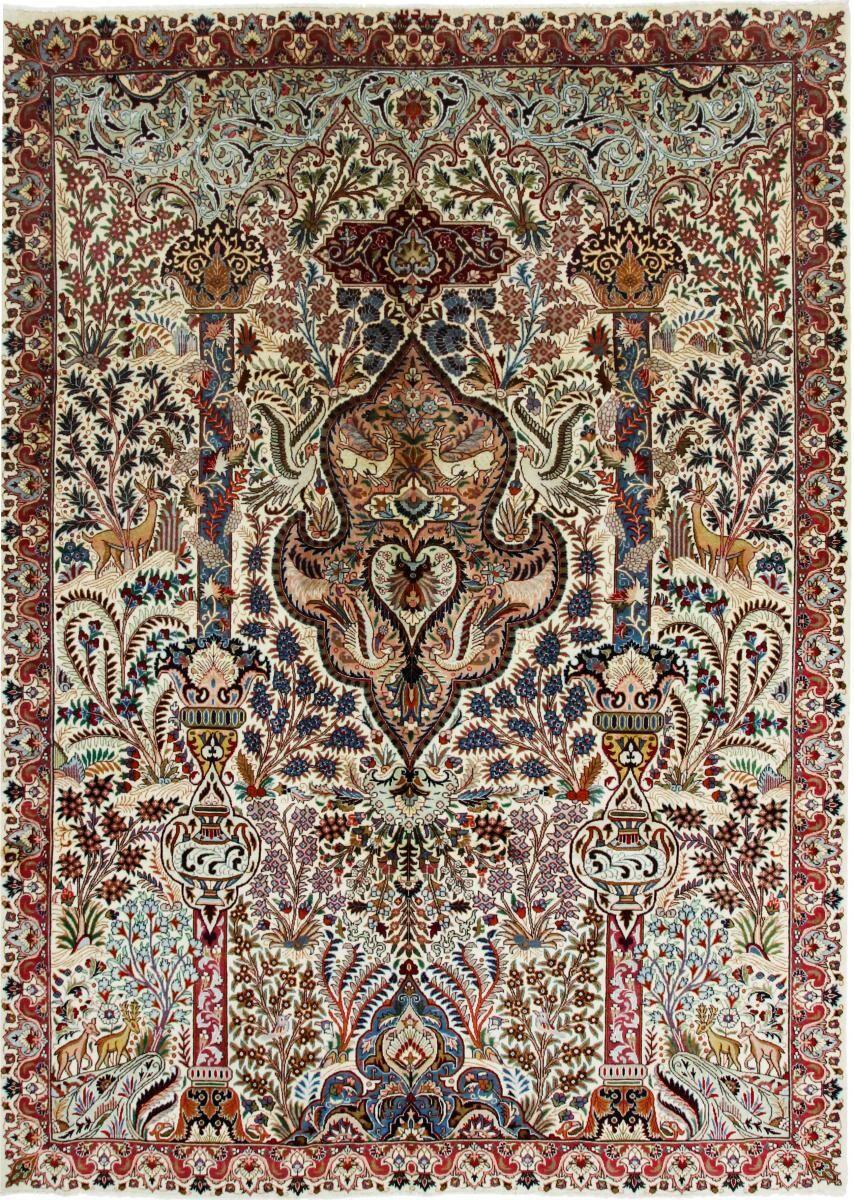 Nain Trading Tappeto Fatto A Mano Kaschmar 341x249 Beige/Marrone (Lana, Persia/Iran)