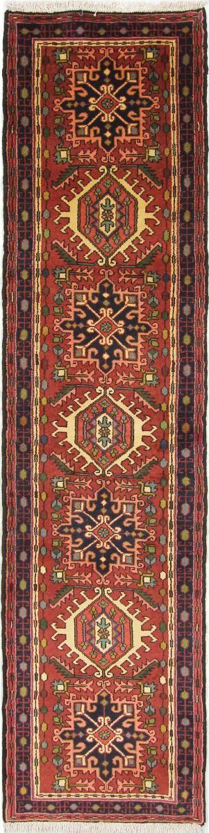Nain Trading Tappeto Orientale Gharadjeh 291x73 Corridore Marrone/Arancione (Lana, Persia/Iran, Annodato a mano)