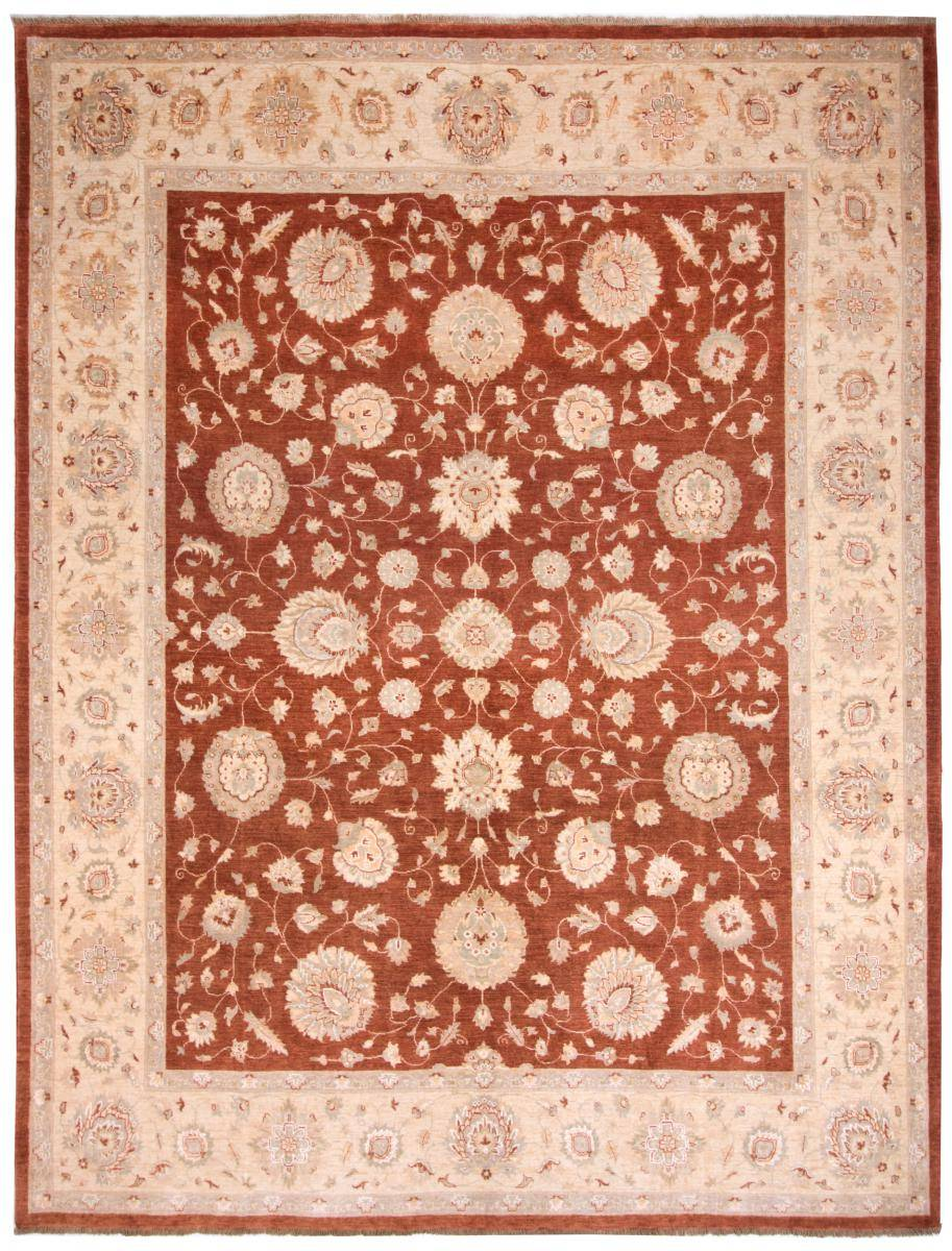 Nain Trading Tappeto Fatto A Mano Ziegler Farahan 317x255 Arancione/Rosa (Lana, Afghanistan)