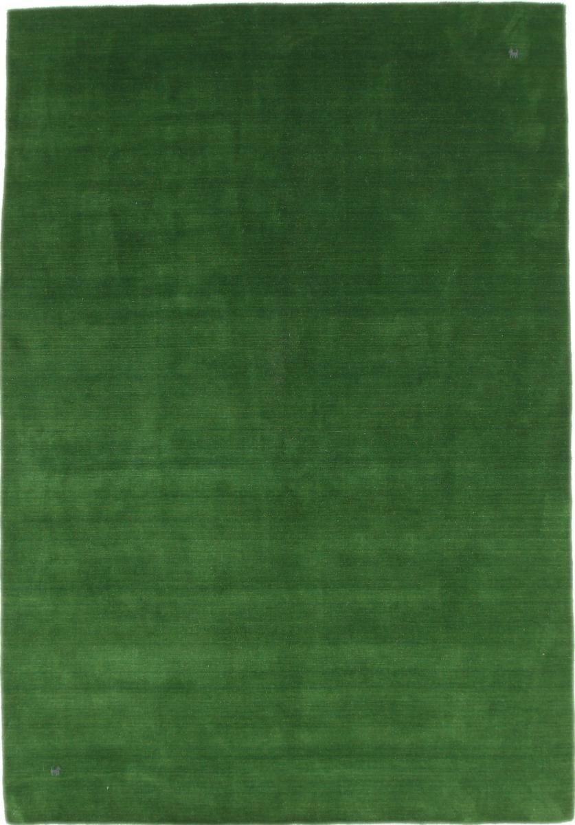 Nain Trading Tappeto Orientale Loom Gabbeh 295x205 Verde Scuro/Verde Oliva (Lana, India, Il lavoro manuale)