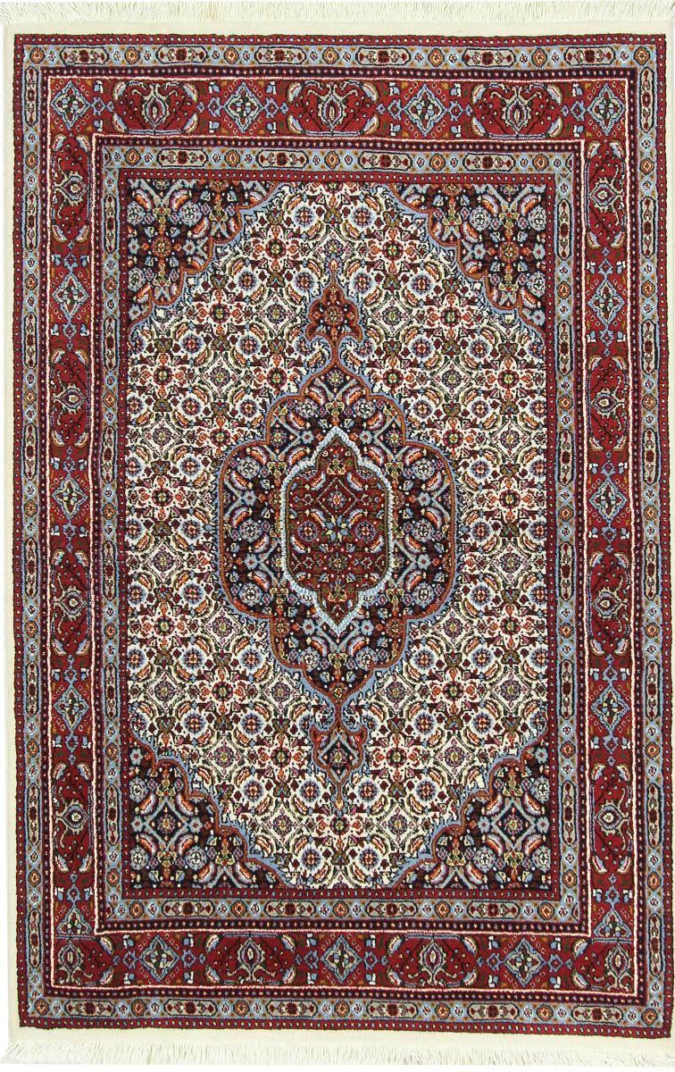 Nain Trading Tappeto Moud 151x99 Marrone Scuro/Viola (Lana, Persia/Iran, Annodato a mano)