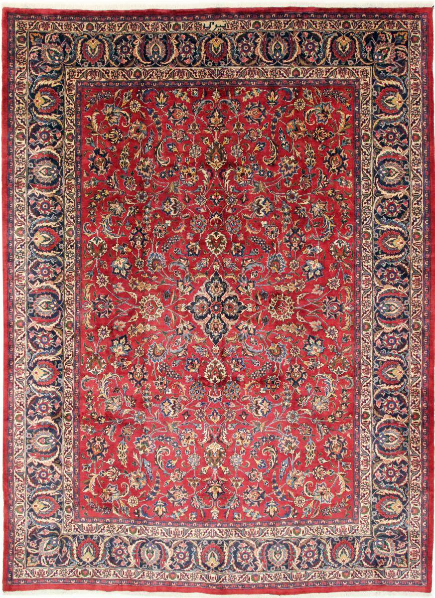 Nain Trading Tappeto Orientale Mashhad 405x296 Viola/Rosa (Persia/Iran, Lana, Annodato a mano)