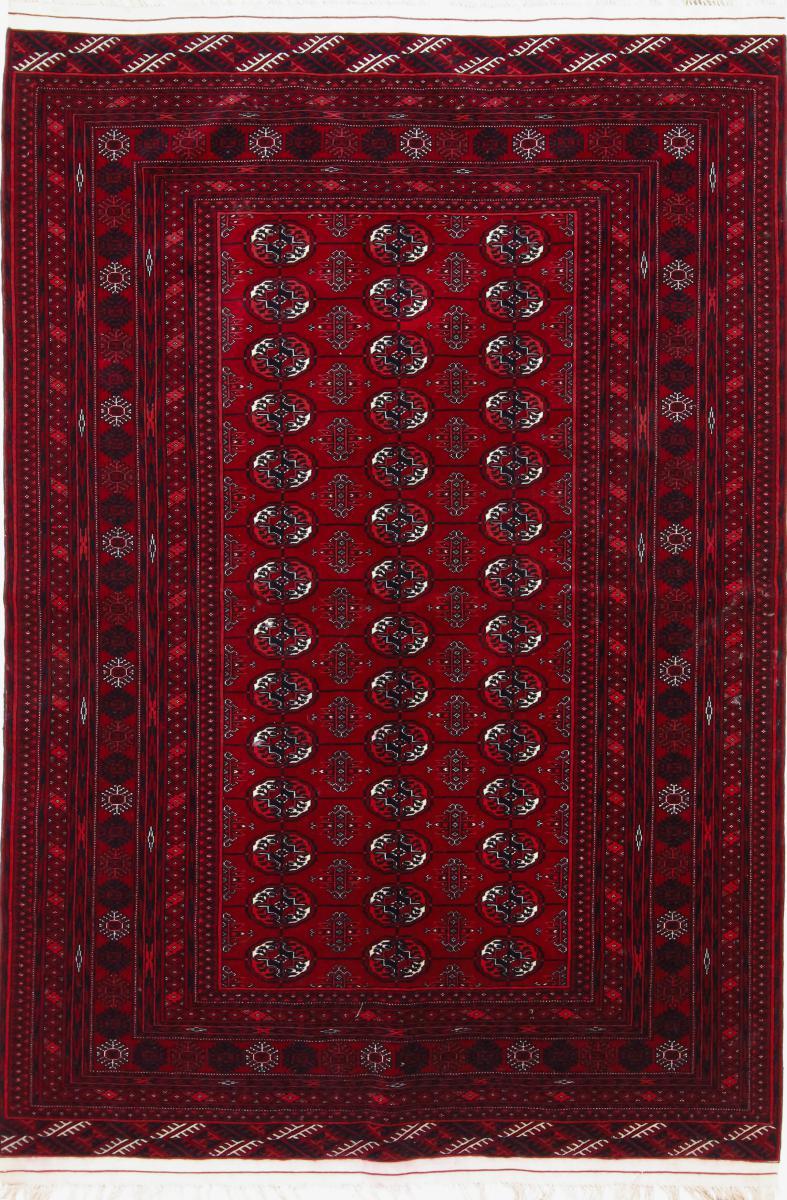 Nain Trading Tappeto Orientale Turkaman 180x126 Marrone Scuro/Rosso Scuro (Persia/Iran, Lana, Annodato a mano)