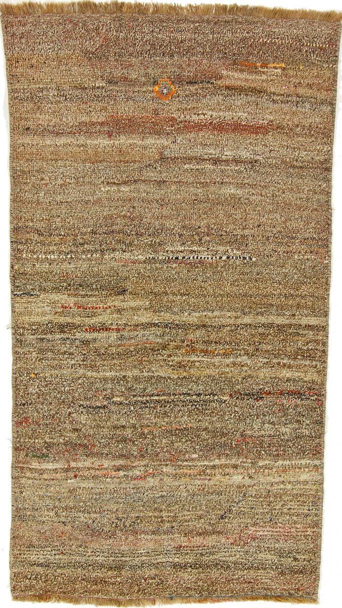 Nain Trading Tappeto Persiano Persia Gabbeh Ghashghai 181x100 Corridore Beige/Marrone Scuro (Annodato a mano, Persia/Iran, Lana)