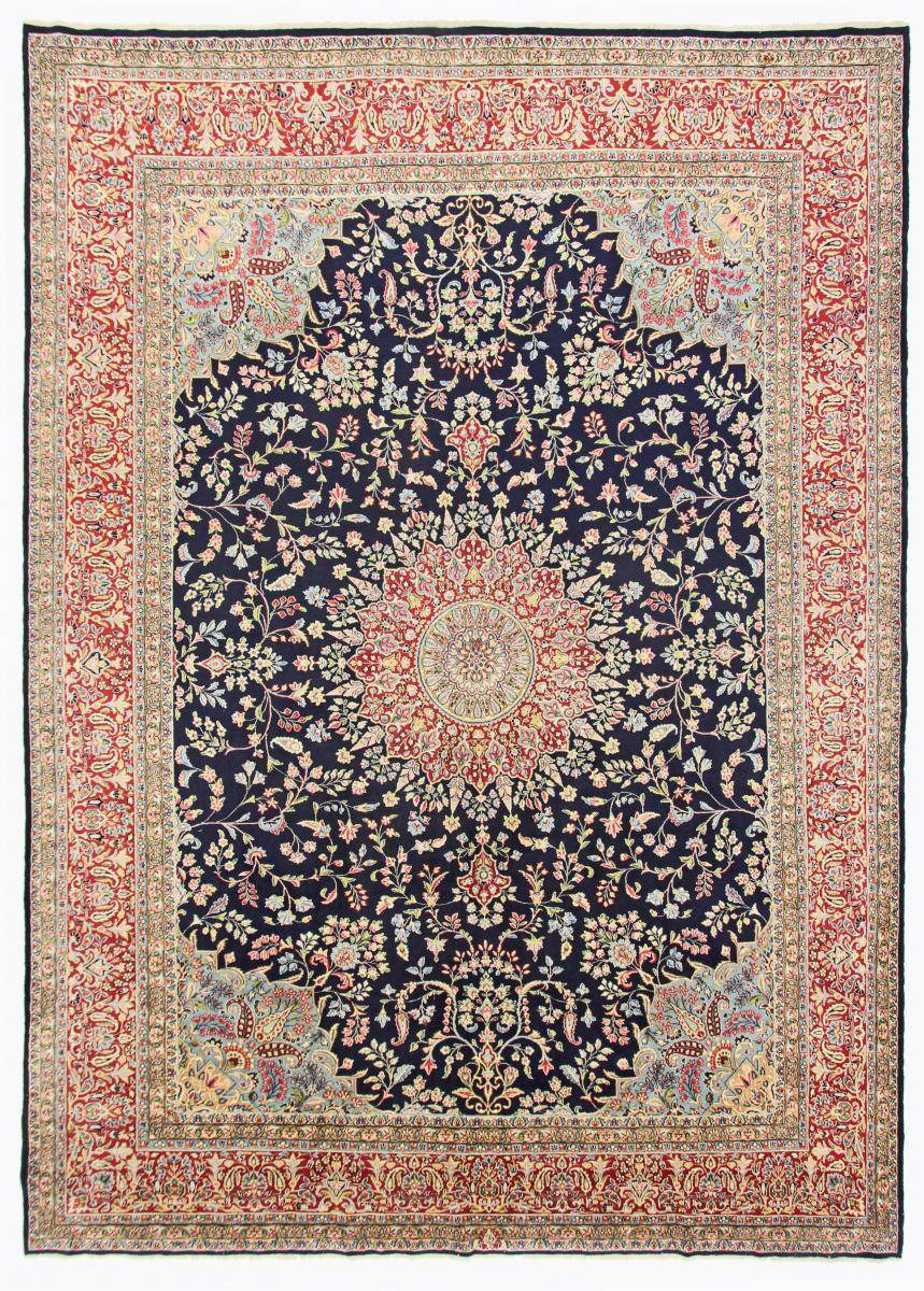 Nain Trading Tappeto Kirman Firmato Rashid Farokhchy 424x299 Grigio Scuro/Beige (Lana, Persia/Iran, Annodato a mano)