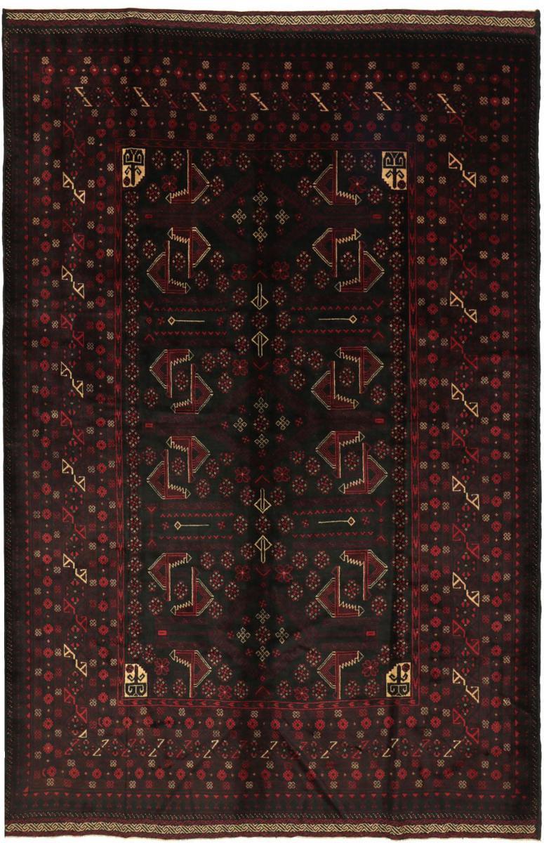 Nain Trading Tappeto Beluch 269x206 Grigio Scuro/Marrone Scuro (Afghanistan, Annodato a mano, Lana)