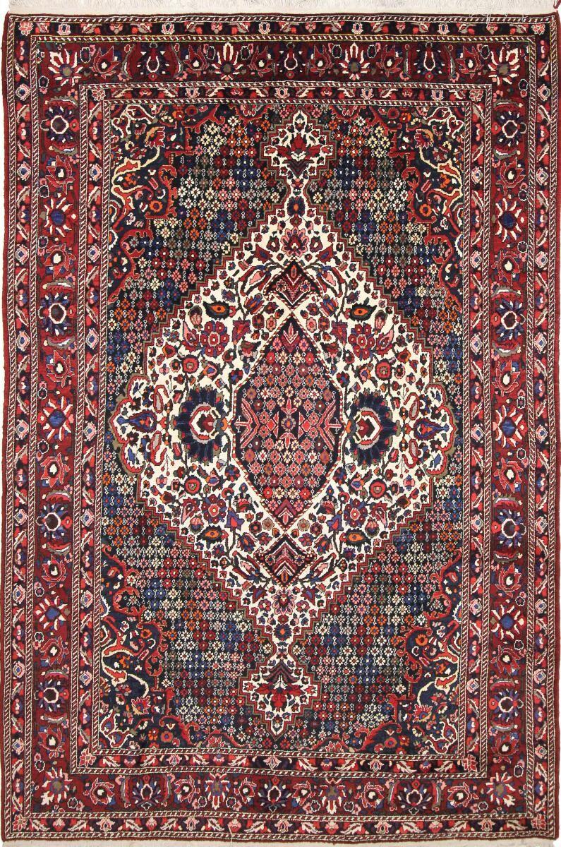 Nain Trading Tappeto Orientale Bakhtiar Antico 323x226 Grigio/Marrone Scuro (Lana, Persia/Iran, Annodato a mano)