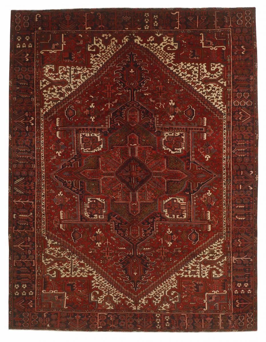 Nain Trading Tappeto Fatto A Mano Heriz 401x304 Marrone (Lana, Persia/Iran)