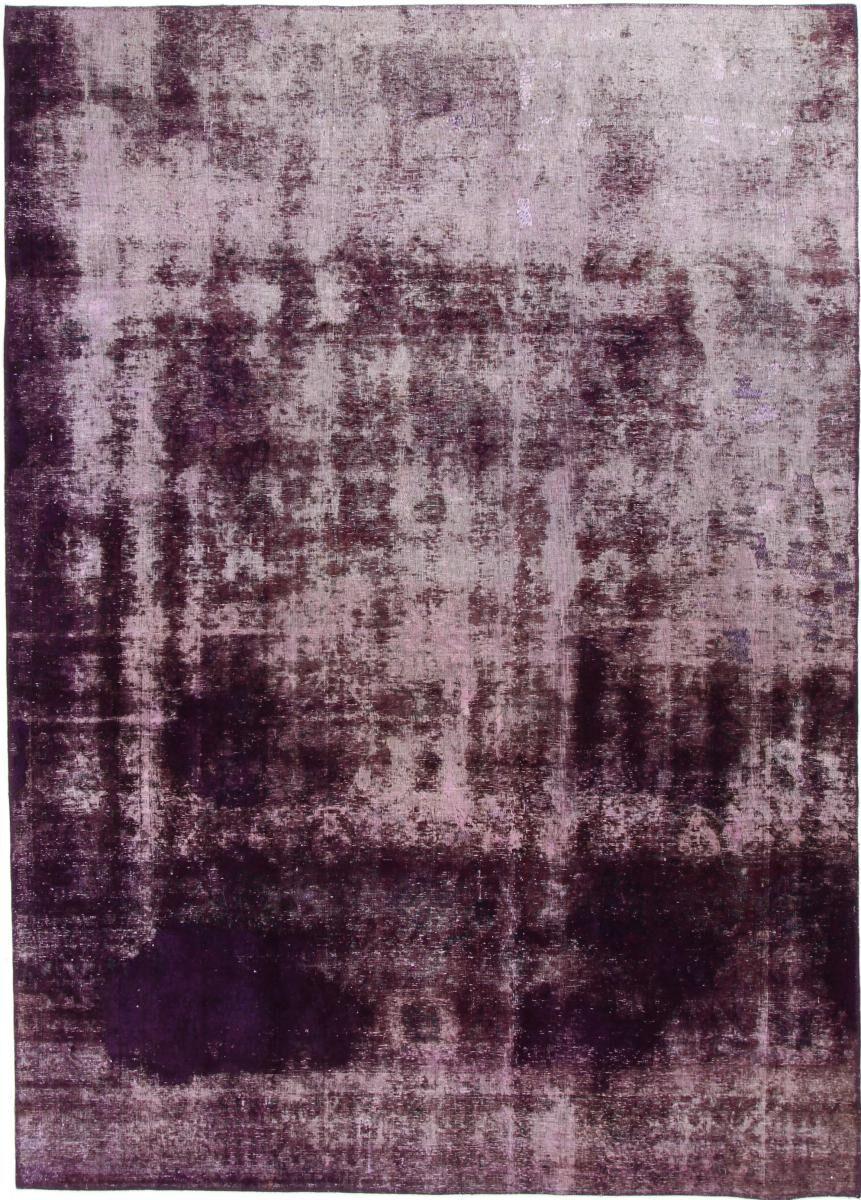 Nain Trading Tappeto Vintage 327x236 Beige/Viola (Lana, Persia/Iran, Annodato a mano)