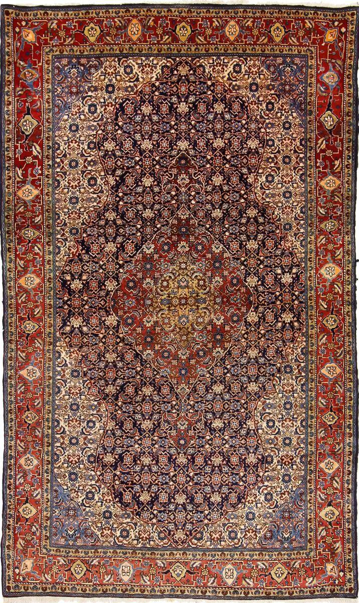 Nain Trading Tappeto Persiano Saruk 210x126 Marrone/Viola (Annodato a mano, Persia/Iran, Lana)