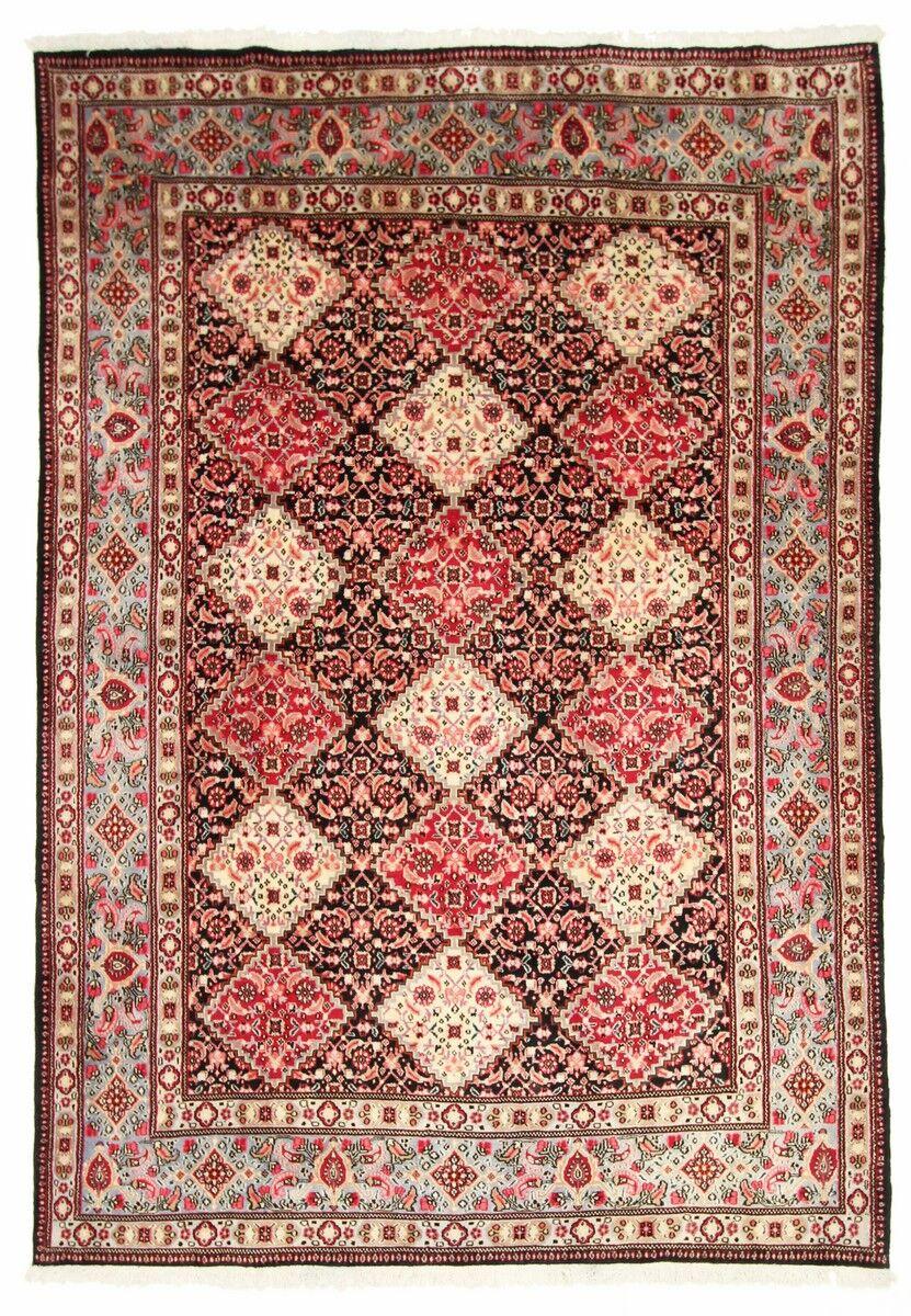 Nain Trading Tappeto Orientale Moud 292x200 Ruggine/Rosa (Lana, Persia/Iran, Annodato a mano)