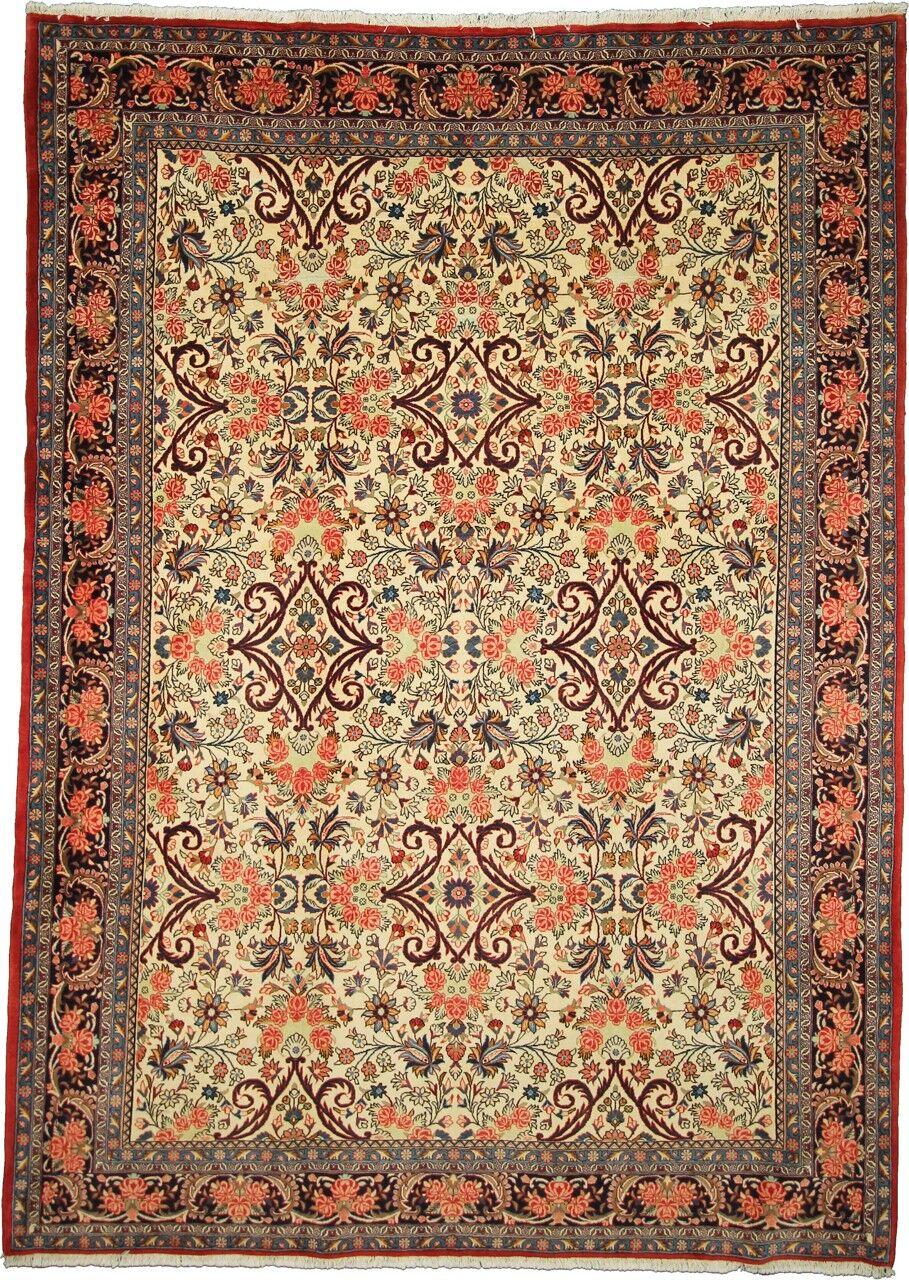 Nain Trading Tappeto Persiano Bidjar 310x225 Marrone Scuro/Arancione (Annodato a mano, Persia/Iran, Lana)
