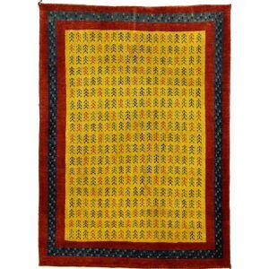 Nain Trading Tappeto Persiano Persia Gabbeh Loribaft 150x107 Grigio Scuro/Marrone (Annodato a mano, Persia/Iran, Lana)