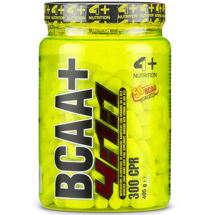 4 Plus Nutrition Bcaa+ 4:1:1 (300cpr)