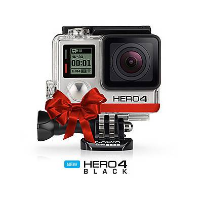 GoPro HERO 4 Black Adventure Edition - video camera professi