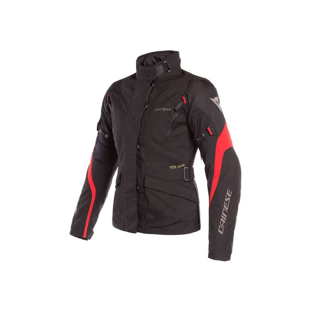 Dainese Giacca Tempest 2 Lady D-Dry nero tour rosso