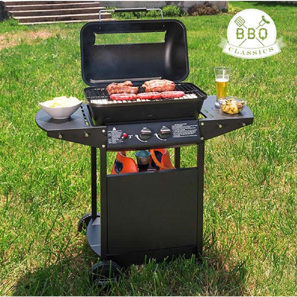 BB Barbecue a gas con griglia q classics 1834va ideale per esterni