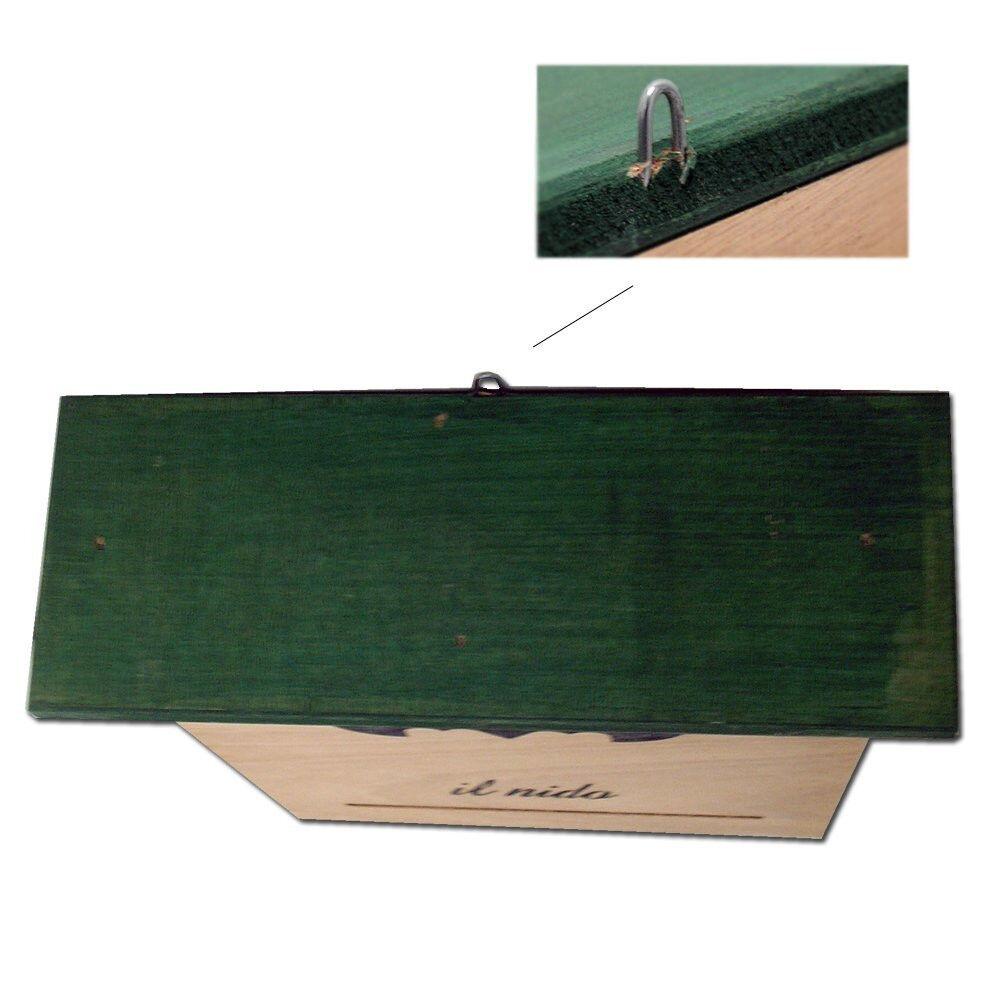 Pet Italy Casetta per pipistrelli bat-box nido in legno