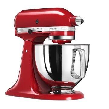 KitchenAid Robot da cucina Artisan Rosso imperiale + Estrattore di succo per Artisan - Planetarie - Garanzia 5 anni Ufficiale Italia - Spedizione gratuita