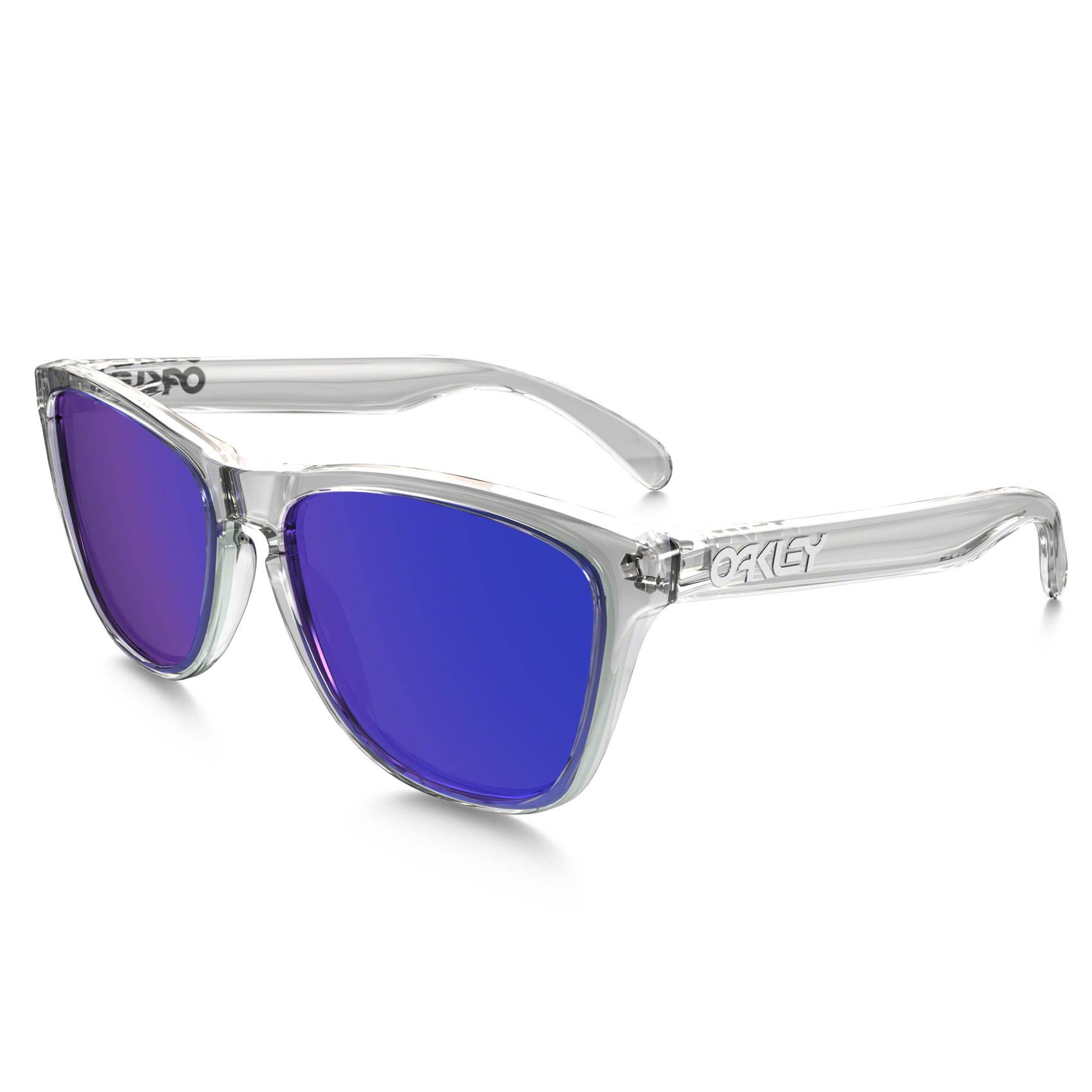 Oakley OCCHIALE FROGSKINS® POLISHEDCLEAR VIOLET IRIDIUM