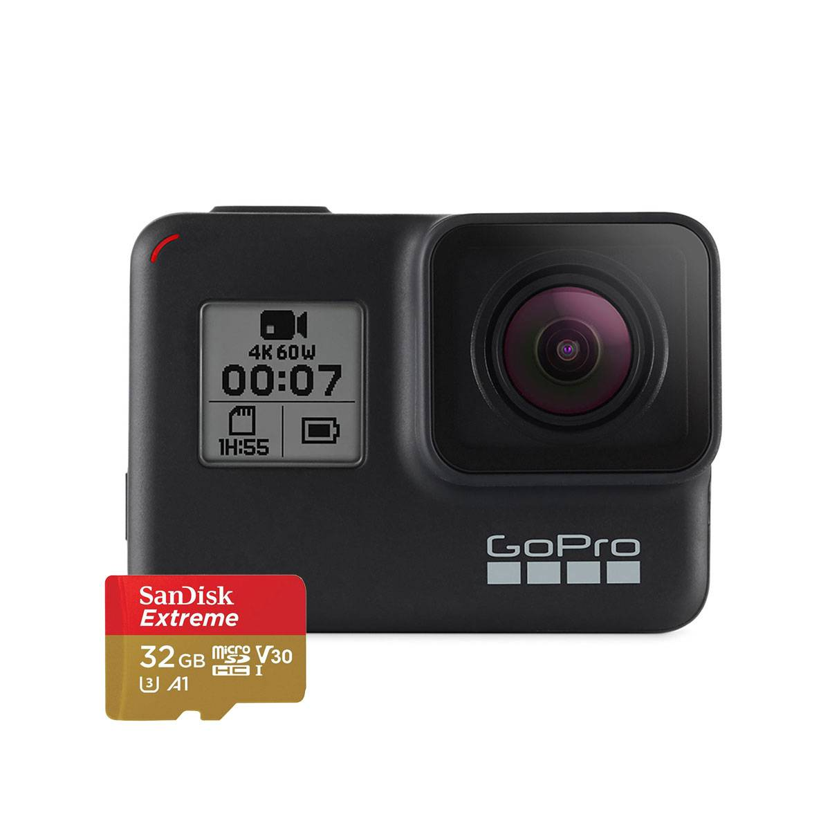 Gopro HERO7 BLACK con SD CARD