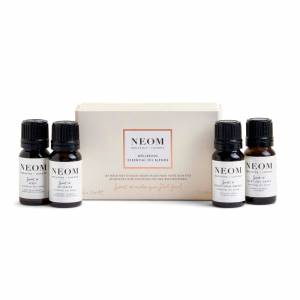 NEOM Essential Oil Blends 4 x 10ml