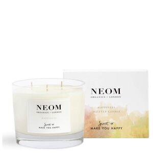 NEOM Happiness candela profumata con 3 stoppini