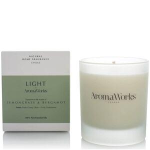 AromaWorks Light Range candela erba citronella e bergamotto 30 cl