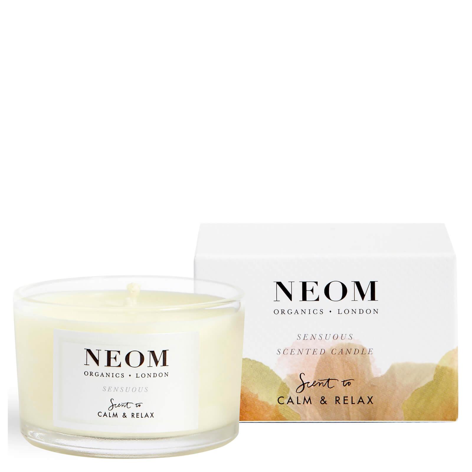 Neom Sensuous candela profumata da viaggio