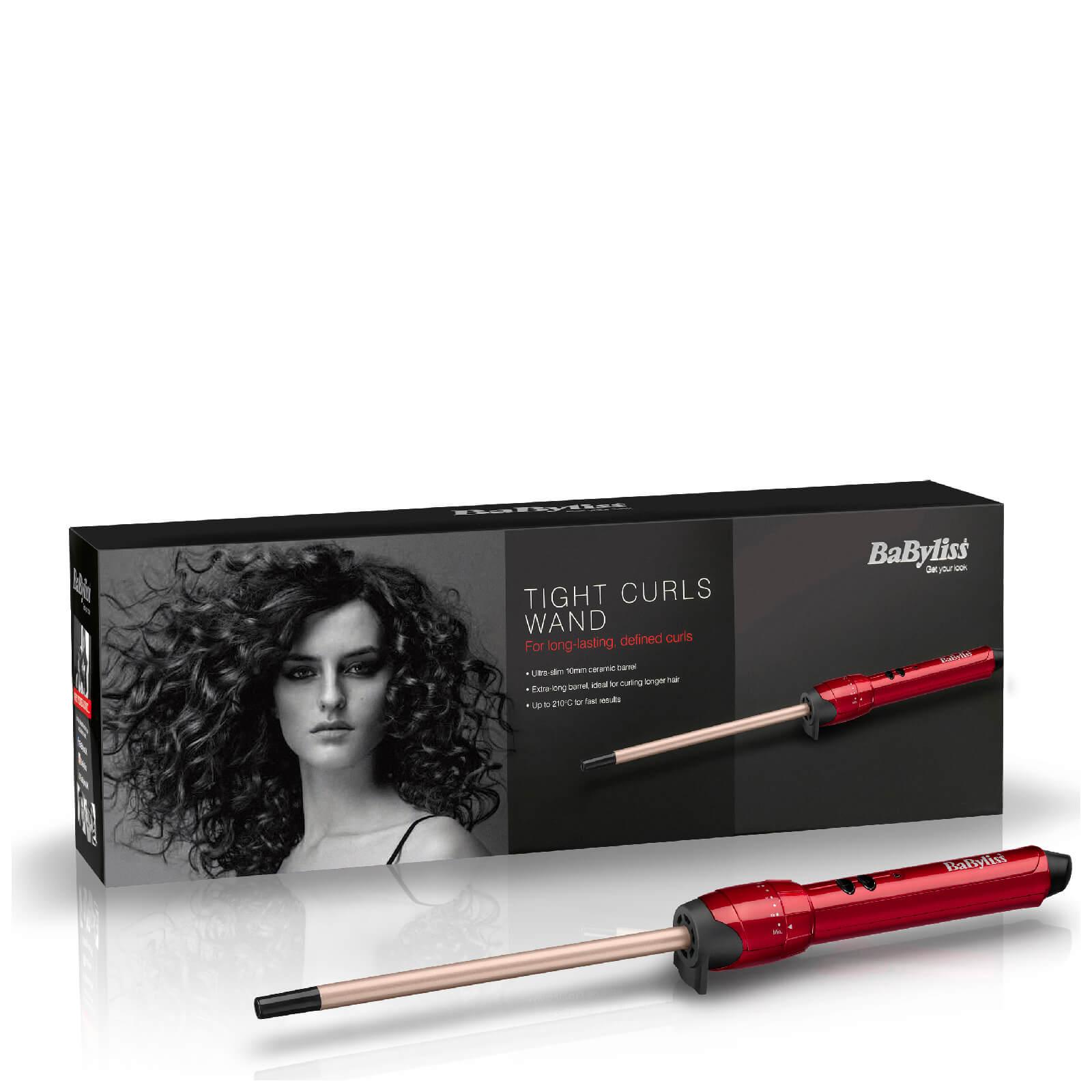 BaByliss ferro arricciacapelli stretto - rosso