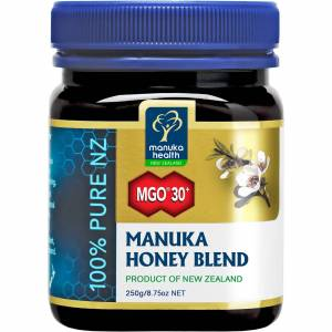 Manuka Health New Zealand Ltd Manuka Health miscela con miele di manuka MGO 30+ 250G