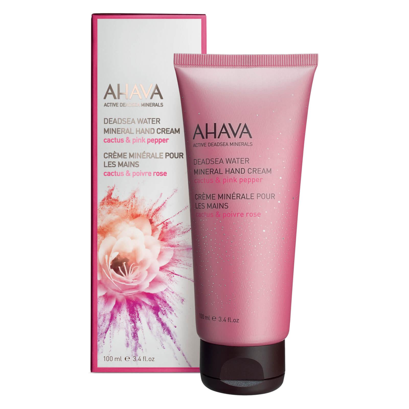 Ahava Mineral crema mani - cactus e pepe rosa