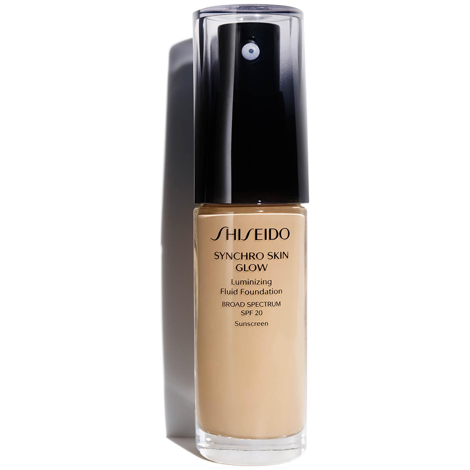 Shiseido Synchro Skin Glow Luminizing Foundation 30 ml (varie tonalità) - Golden 4