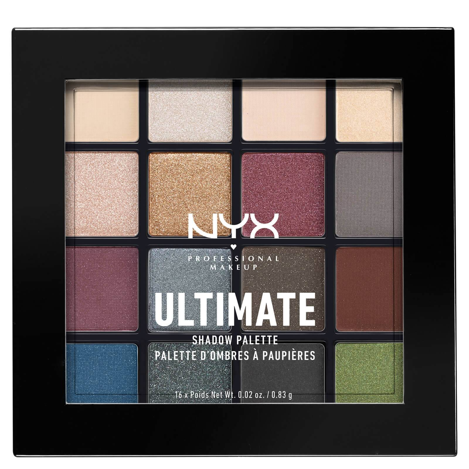 Nyx Professional Makeup Ultimate Shadow Palette - Smokey and Highlight