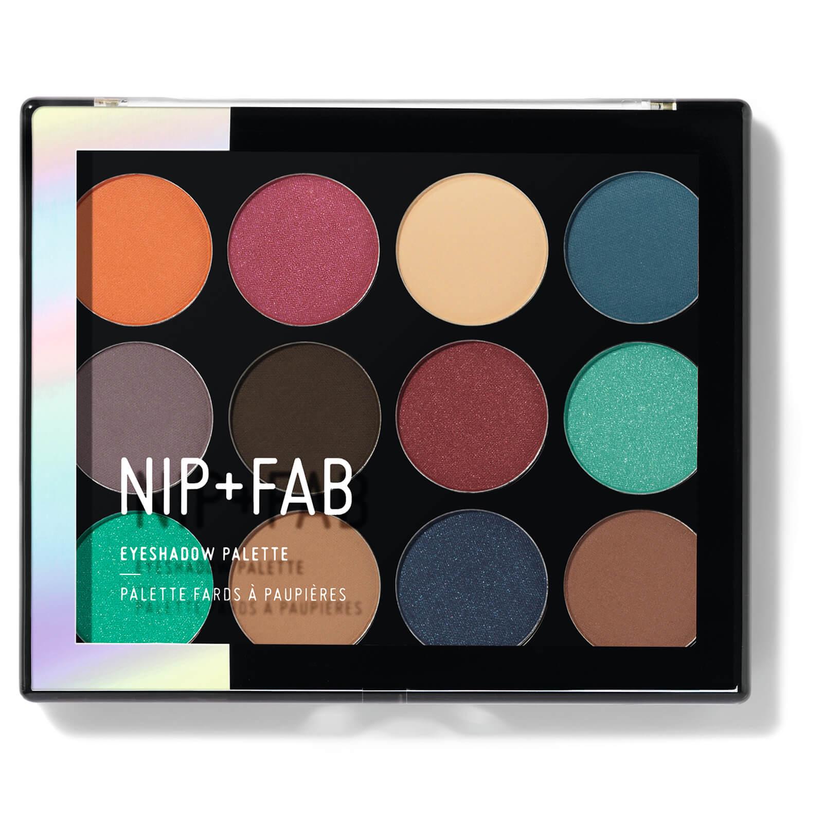 Nip+fab NIP + FAB Make Up palette di ombretti - Jewel 12 g