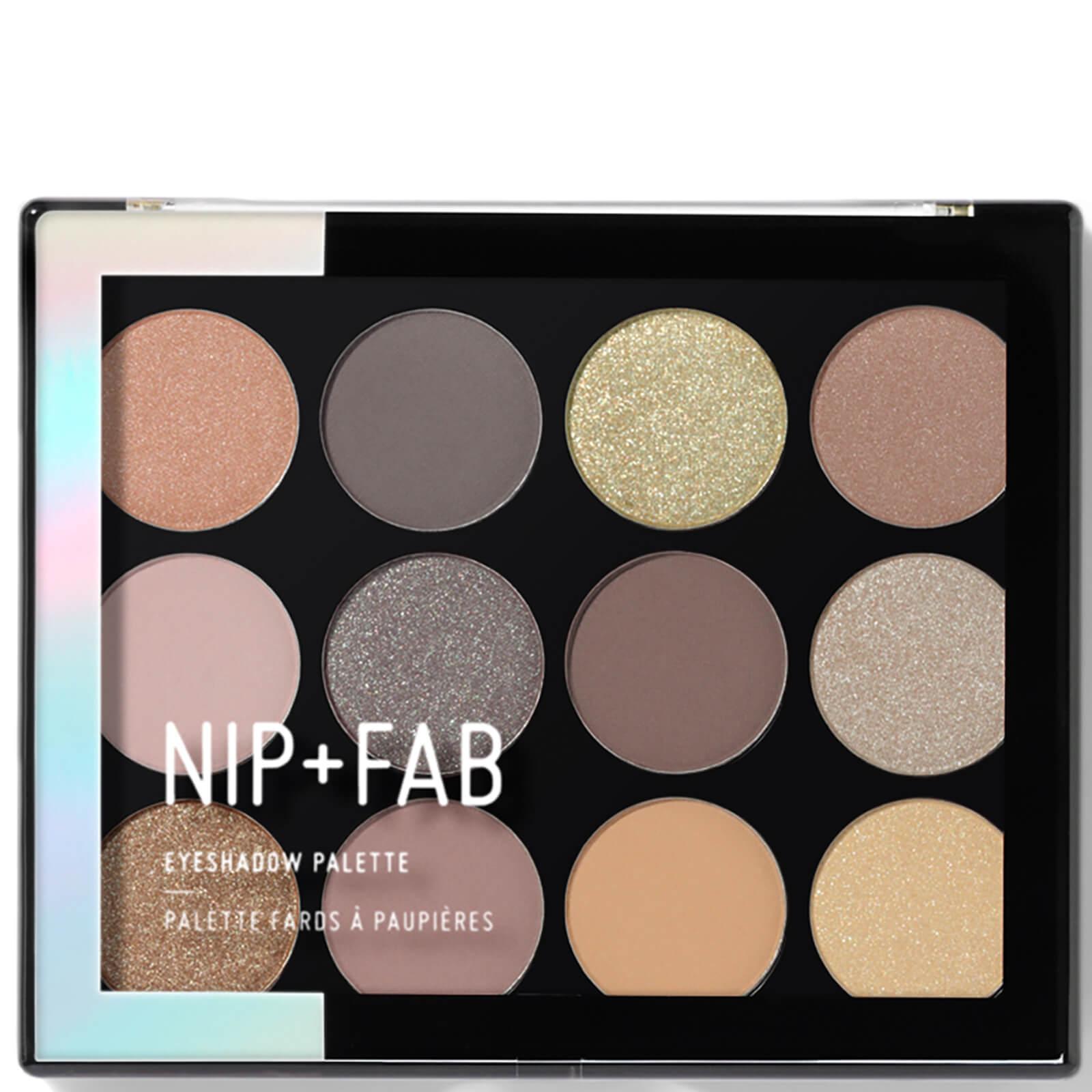 Nip+fab NIP + FAB Make Up palette di ombretti - Cool Neutrals 12 g